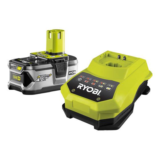 Аккумулятор+зарядное устройство Ryobi RBC18L40 (1 аккумулятор 4,0 А/ч)