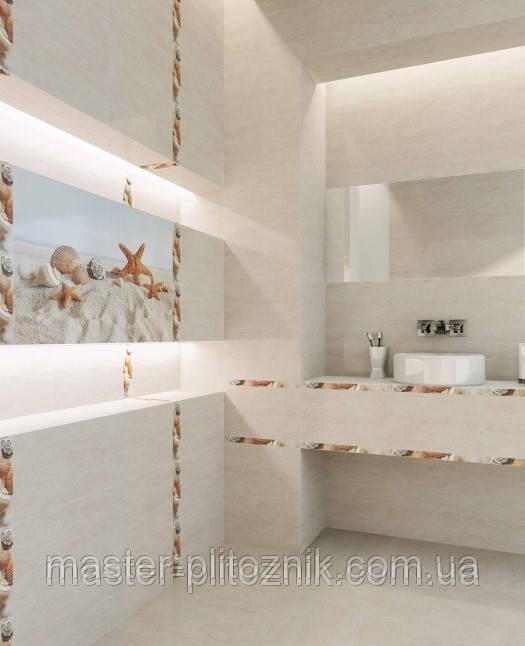 Плитка облицовочная  для ванных комнат  Самер-Стоун