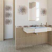 Плитка облицовочная  для ванных комнат  Зебрано, фото 1