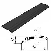 Уплотнение боковое Doorhan 24703 для ворот гаражных секционных