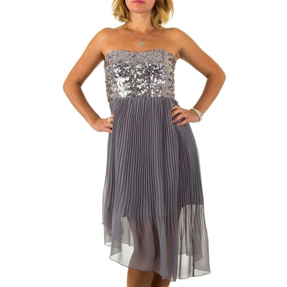 Женское платье от Vera Mont - серый - Мкл-VM9150-серый