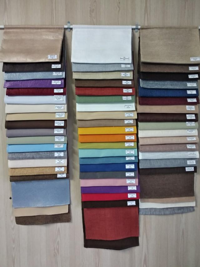 тканини для римських штор
