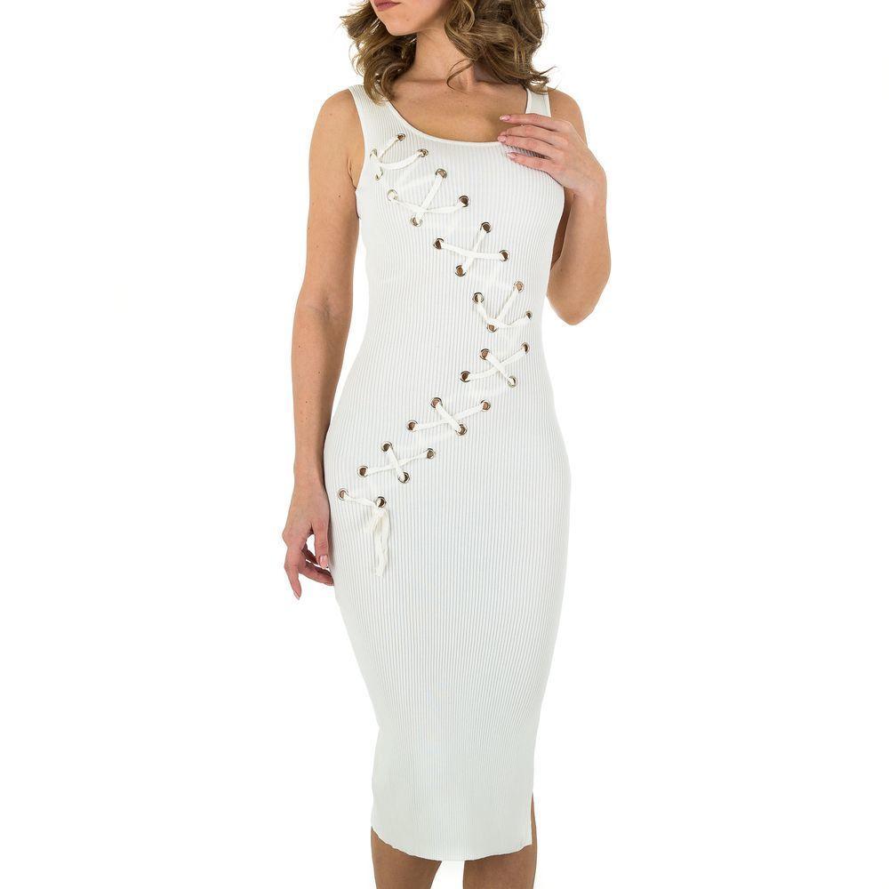 Женское платье от Voyelles, размер M/38 - белый - KL-P116-white S/M