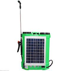 Обприскувач акумуляторний Zirka ОА-616С (з сонячною панеллю)