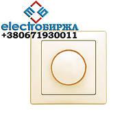 Вимикач DELUX WEGA 9101 диммер 800Вт. білий
