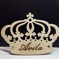 Свадебный декор Корона с Персонализация