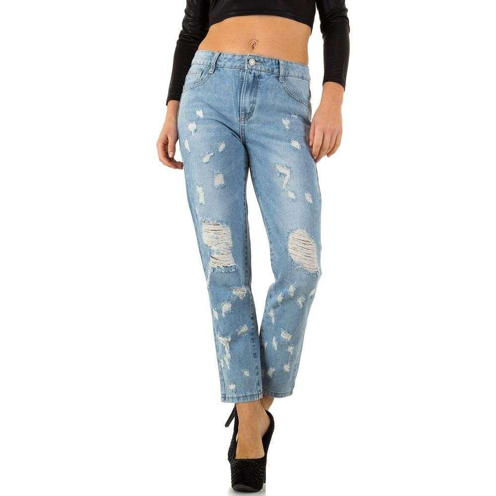 Женские джинсы от Nina Carter - L. blue - KL-J-R-551-l. blue