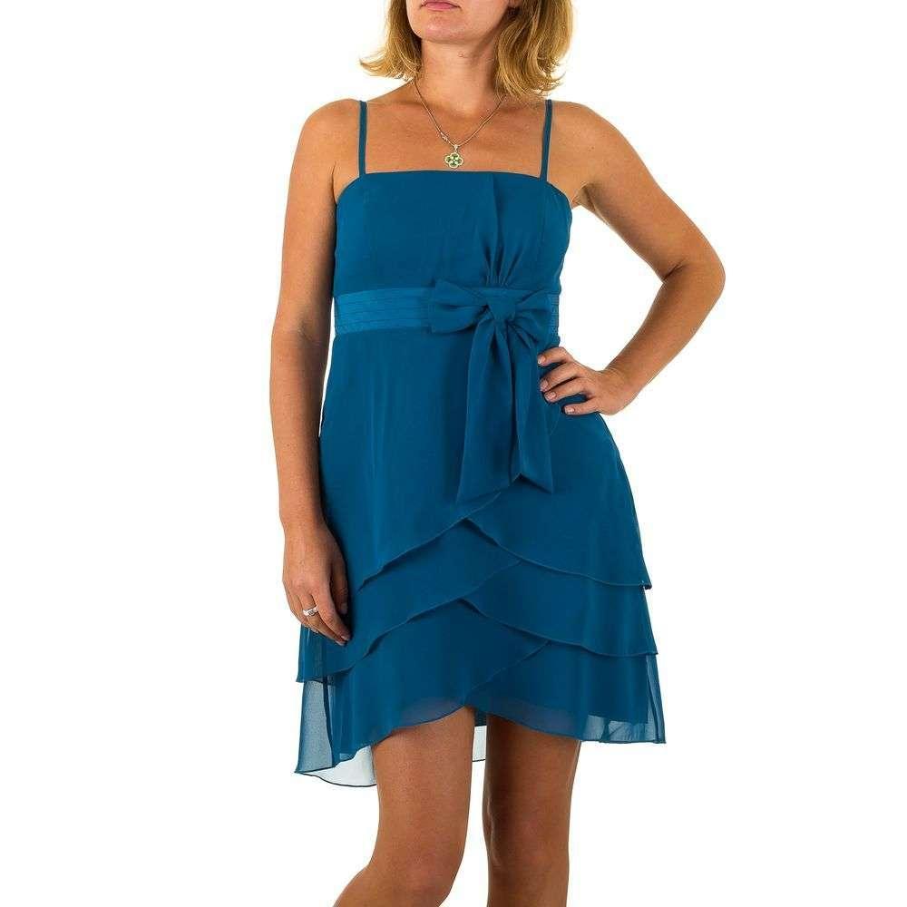 Женское платье от Vera Mont - синий - Мкл-VM4825-синий