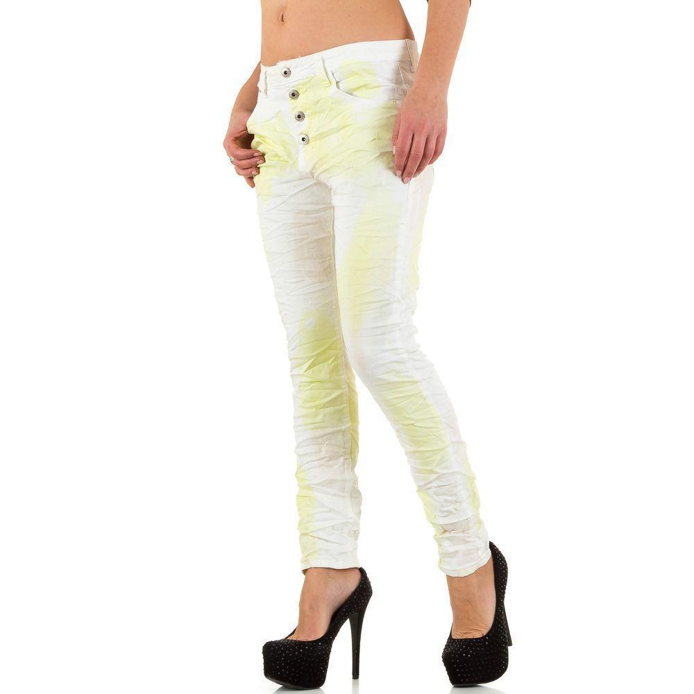 Женские джинсы от Place Du Jour - белый - KL-J-90119-Y-белый
