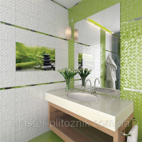 Плитка облицовочная  для ванных комнат  Relax