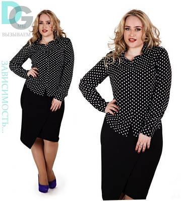 Женская блузка №26-627 БАТАЛ