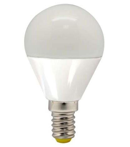 Светодиодная лампа Feron LB-95 G45 E14 5W 4000K 230V Код.58343