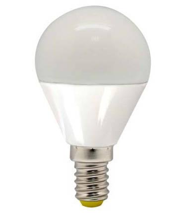 Светодиодная лампа Feron LB-95 G45 E14 5W 4000K 230V Код.58343, фото 2