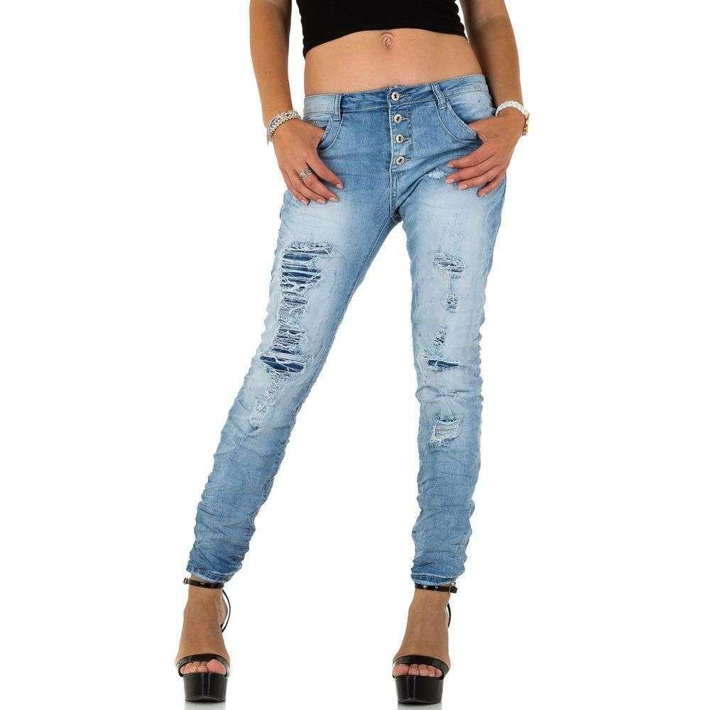 Женские джинсы от Place Du Jour - l. blue - KL-J-95207-L. blue