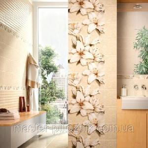 Плитка облицовочная для стен ваннои комнаты Oasis