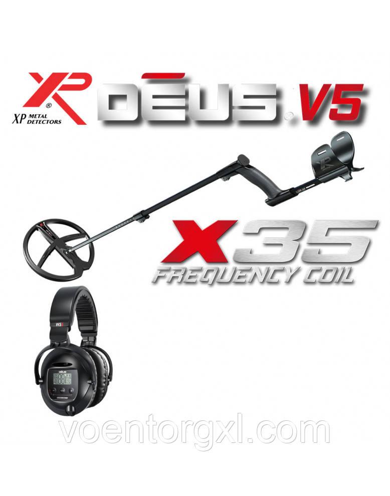 МЕТАЛОШУКАЧ XP DEUS 28 X35 WS5 LITE