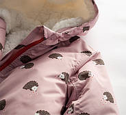 Куртка для девочки Ежики Meanbear, фото 3