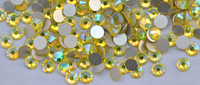 Стразы Сваровски, 1440 шт, цвет: желтый хамелион, №4 (1,5 мм)