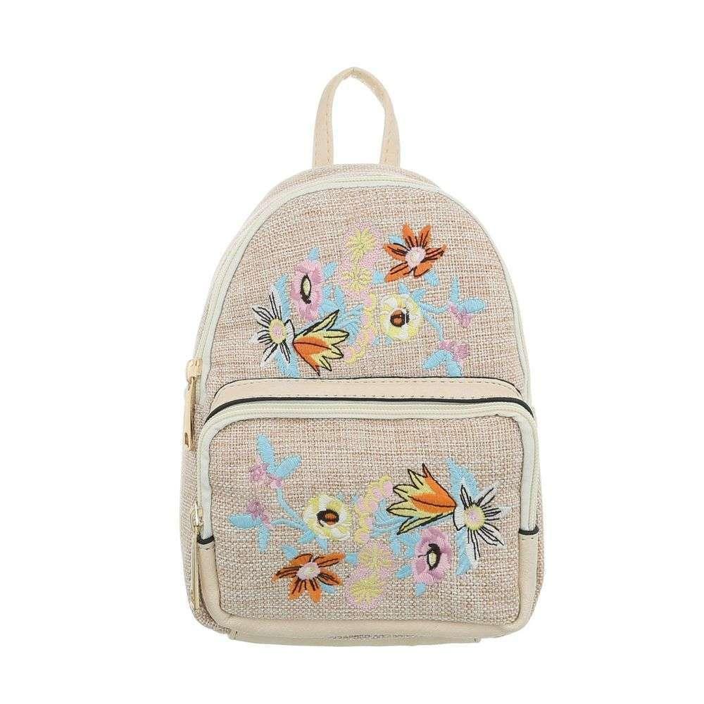 Женский рюкзак-бежевый - ТА-5160-15-бежевый