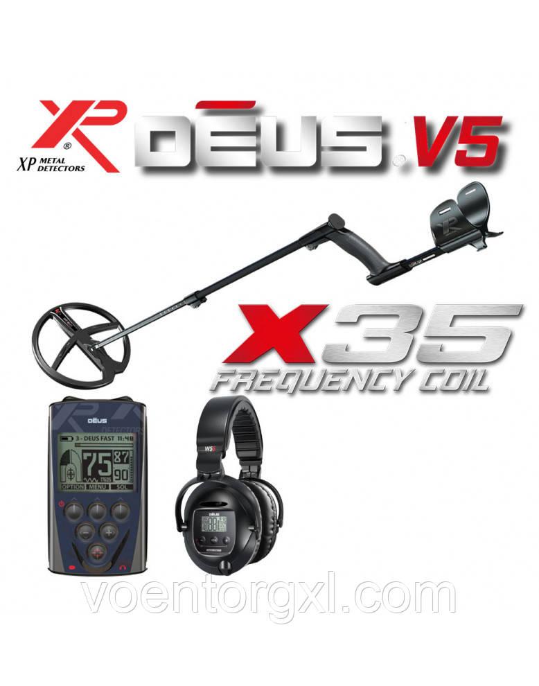 МЕТАЛЛОИСКАТЕЛЬ XP DEUS 28 X35 RC WS-5