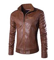 Отличные мужские осенние кожаные куртки