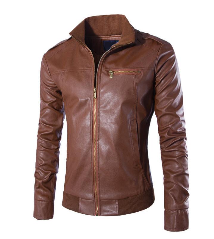 b67deb46259 Отличные мужские осенние кожаные куртки - Интернет-магазин