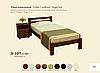 Ліжко 1-сп. Л-107 /Скіф/, фото 2