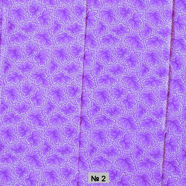 Тканина постільна донецький ситець-зима фіолетова