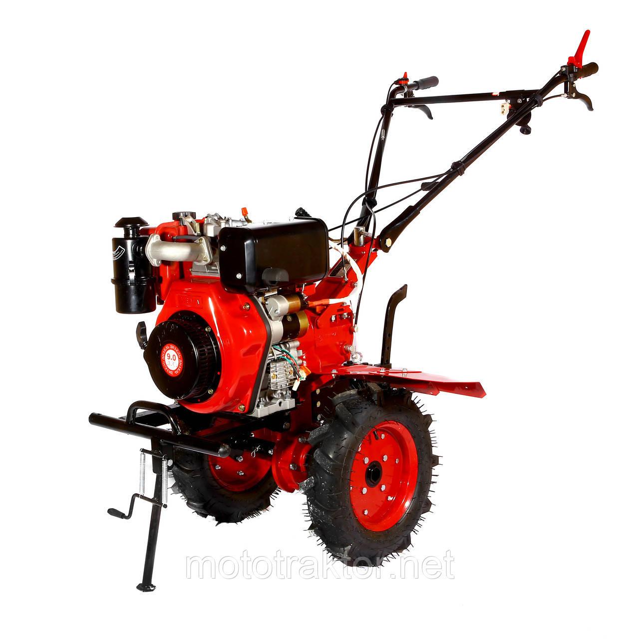 Мотоблок WEIMA WM1100BE (дизель 9л. с., електростартер, колеса 4.00-10) Безкоштовна доставка