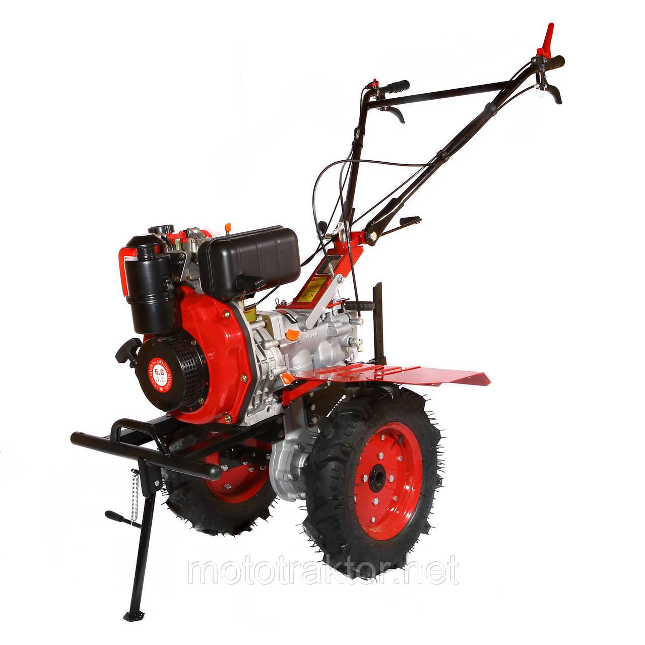 Мотоблок WEIMA WM1100A-6 (4+2 швидкості, дизель 6 л. с. колеса 4,00-10) Безкоштовна доставка