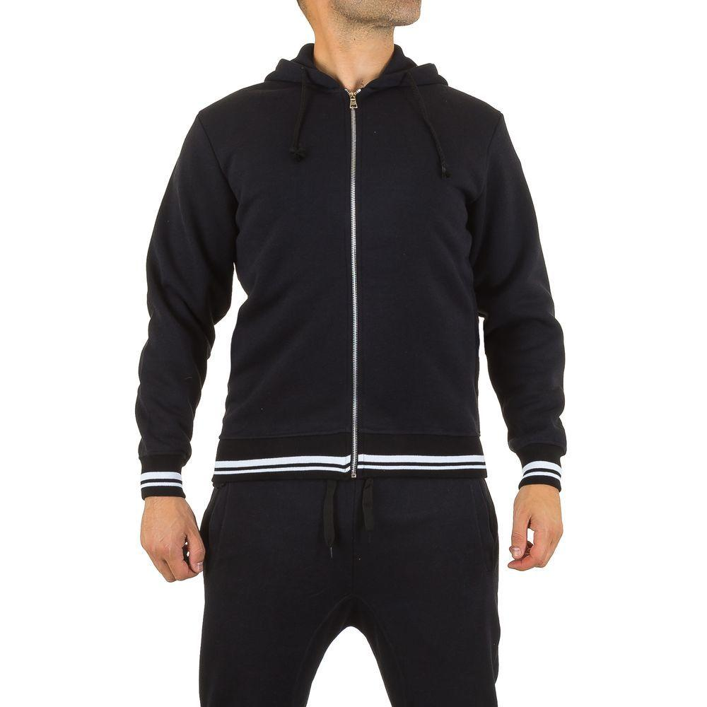 Мужская спортивная куртка Original Wear, размер M - black - KL-H-Q-5K1635-black M