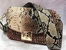 Вязаная сумочка из трикотажной пряжи Bobilon