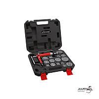 Спец инструмент для переустановки тормозных поршней, 16 предметов Vigor V1711