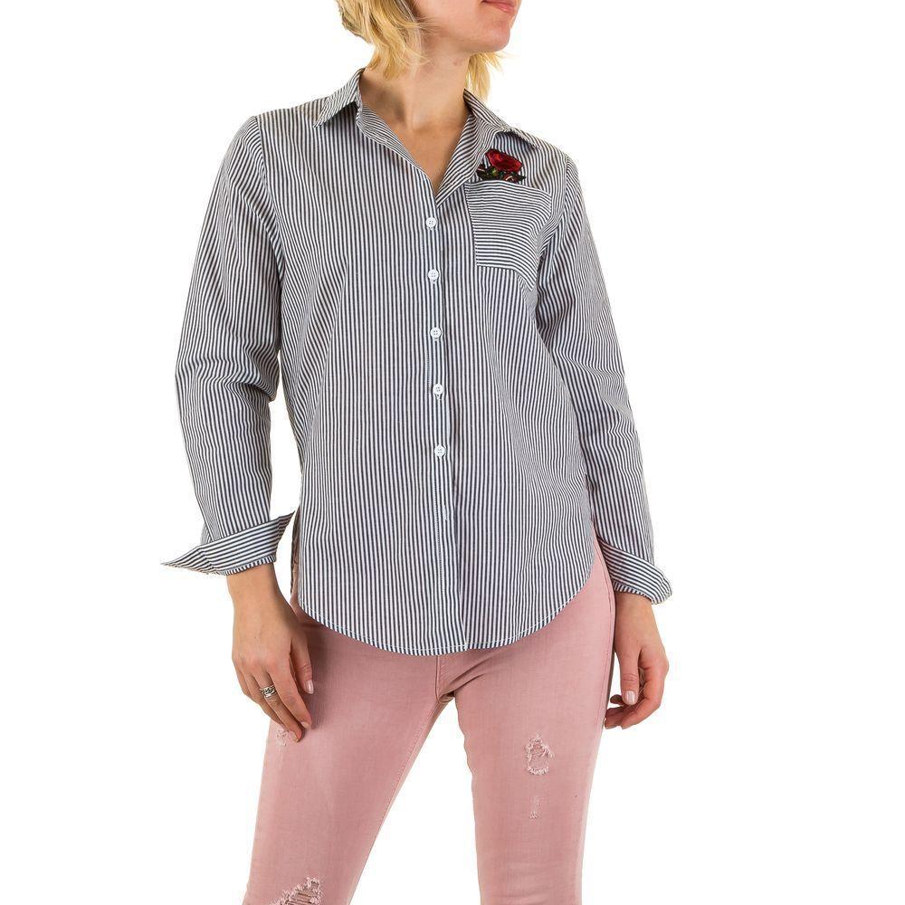 Женская блузка, размер L - black - KL-L447-black L