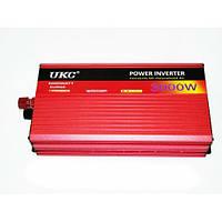 Перетворювач авто інвертор UKC 24V-220V AR 3000W c функцією плавного пуску