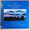 CD диск The Dave Brubeck Quartet - Concord On A Summer Night
