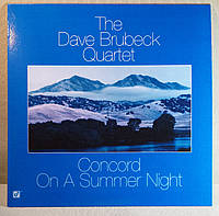 CD диск The Dave Brubeck Quartet - Concord On A Summer Night, фото 1