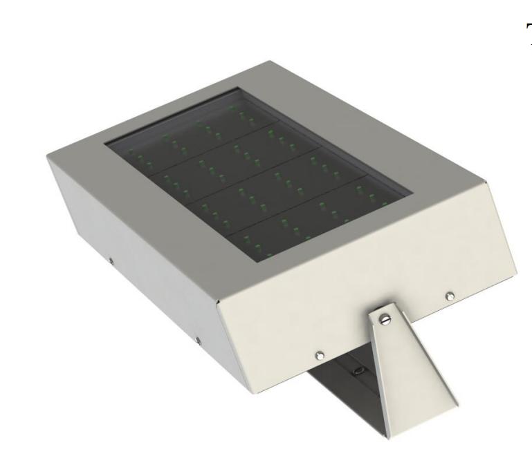 Уличный LED прожектор 100 Вт ODSK (высота 6 м)