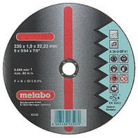 Отрезной круг Metabo Novorapid Inox 230х1,9 мм.