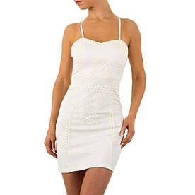Женское платье от Usco - белый - KL-12626-белый