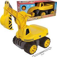 Экскаватор каталка машинка каталка детская для мальчика BIG (55811)