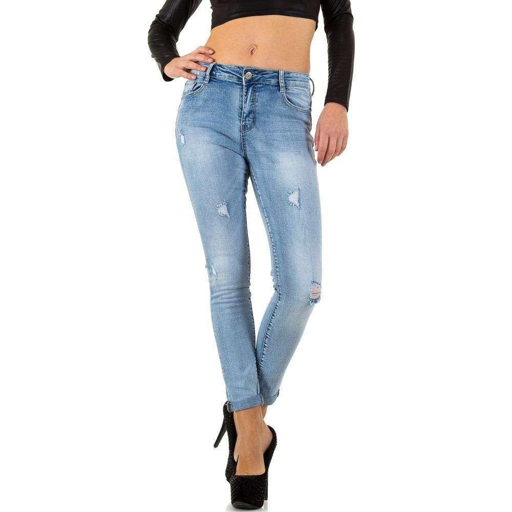 Женские джинсы от Nina Carter - L. blue - KL-J-R-543-L. blue