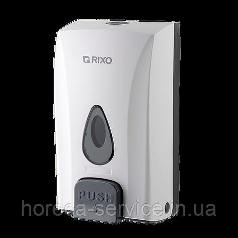 Диспенснр-дозатор жидкого мыла Rixo Maggio S188W, фото 2