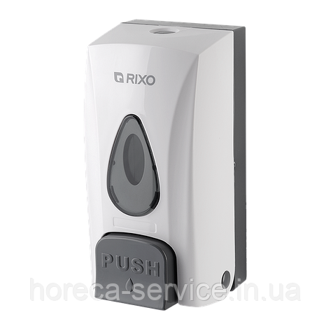 Диспенсер-дозатор жидкого мыла Rixo Maggio S178W белый, фото 2