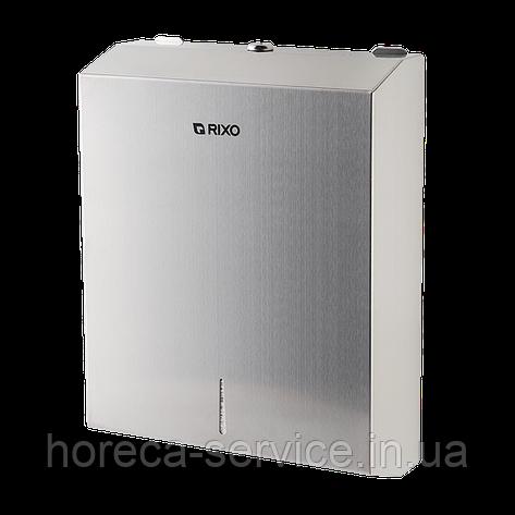 Диспенсер листовых бумажных полотенец Rixo Solido P135, фото 2