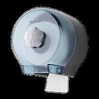 Диспенсер для рулонной туалетной бумаги небольшой намотки Rixo Bello P127TC, прозрачный