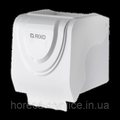 Диспенсер рулонной туалетной бумаги Rixo Bello P247W белый, фото 2