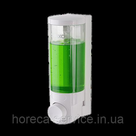 Диспенсер-дозатор одинарный жидкого мыла 300млг Rixo Lungo S006W, фото 2