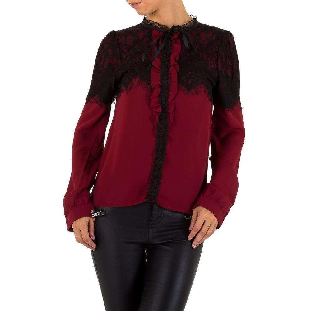 Женская блузка от Emmash - winered - KL-МУ-1037-winered