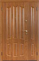Двухстворчатые, полуторные входные двери Саган Стандарт, Николаев